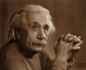Albert Einstein (Ulma, 14 marzo 1879 - Princeton, 18 aprile 1955) è stato un fisico e filosofo tedesco naturalizzato svizzero, divenuto in seguito cittadino statunitense.