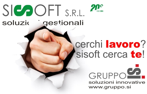 Sisoft cerca agenti procacciatori - settore informatica e servizi