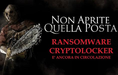 Non aprite quella POSTA - Ransomware Cryptolocker è ancora in circolazione