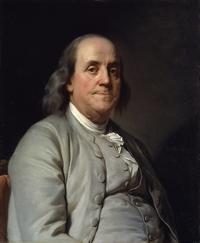 Benjamin Franklin (Boston, 17 gennaio 1706 - Filadelfia, 17 aprile 1790) è stato uno scienziato e politico statunitense.