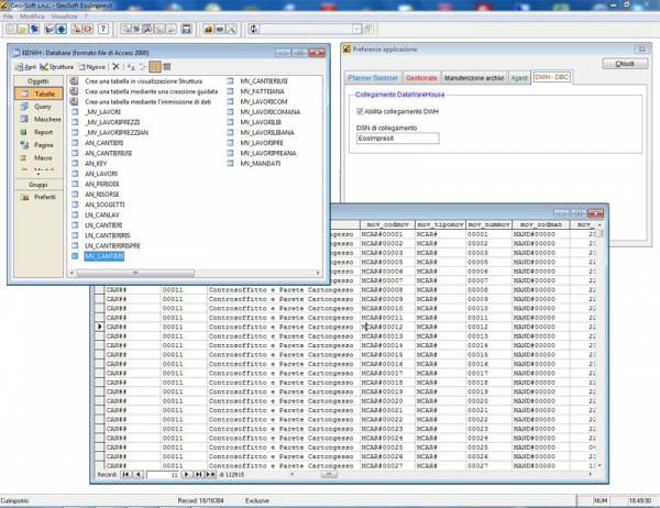 Costi di cantiere gestione impresa edile DataWareHouse