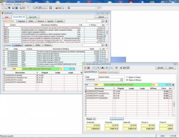 Costi di cantiere gestione impresa edile Contabilità libretto delle misure
