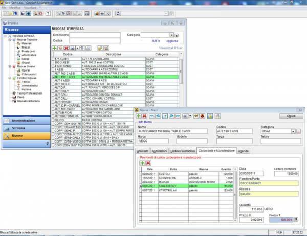 Costi di cantiere gestione impresa edile Data Bind Tools