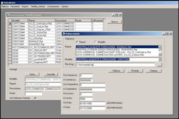 Gestione Stampe - software gestionale aziendale NTS Business - sisoft srl