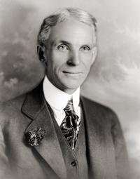 Henry Ford (Dearborn, 30 luglio 1863 - Detroit, 7 aprile 1947) è stato un imprenditore statunitense.