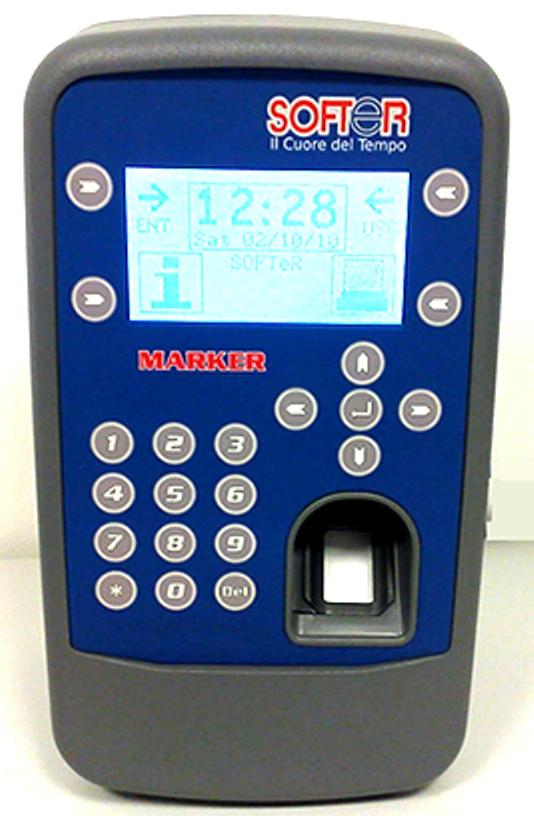 Marker Biometrico - Terminale per la Rilevazione Presenze