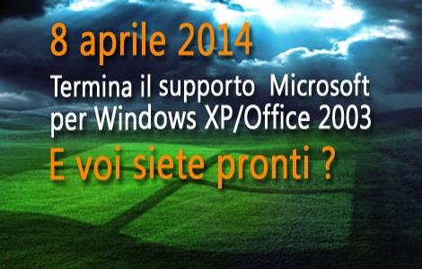 Microsoft Windows XP - Office 2003 - fine supporto