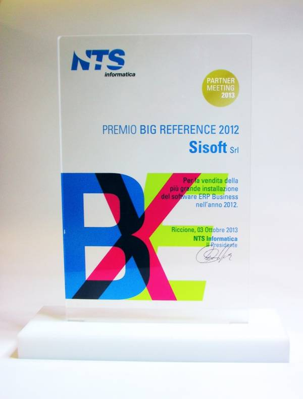 Premio Big Reference 2012 NTS Business 02