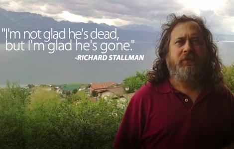 """su Steve Jobs: """"Non sono felice che sia morto, ma sono contento che se ne sia andato"""""""